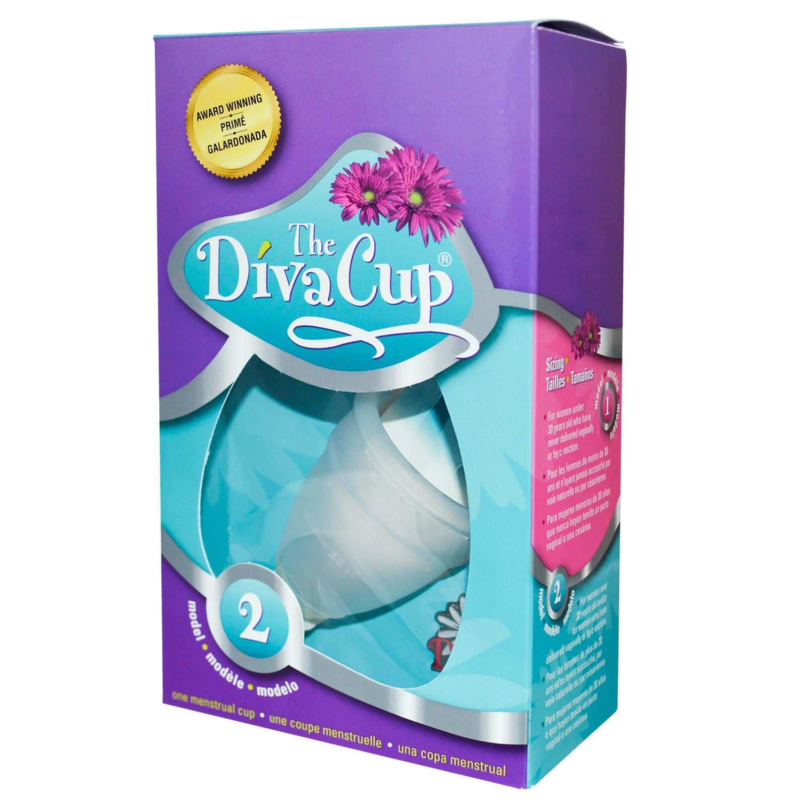 Divacup type 2 webvrouw for A diva cup
