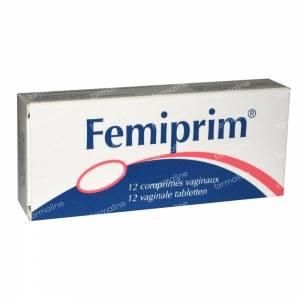 Femiprim Vaginaal 250mg 12 St tabletten