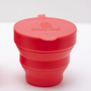Ruby Cup Sterilisator voor herbruikbare Menstruatiecups (Koraalrood)
