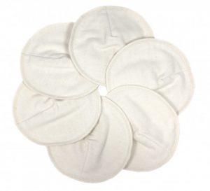 Wasbare zoogcompressen wit