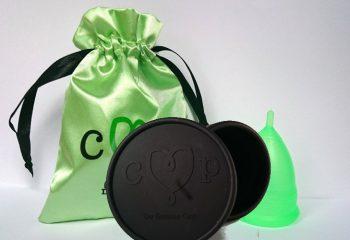 De Groene Cup met magnetronsterilisator