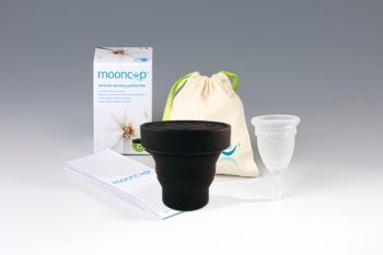 Mooncup UK B, met magnetronsterilisator