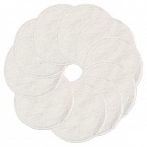 Witte wasbare wattenschijfjes van ImseVimse