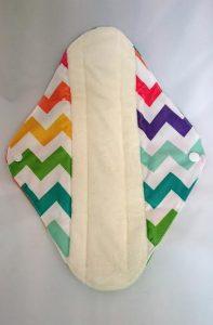 OhBabyKa Large / Zigzag patroon (wasbaar nachtverband) Bamboe