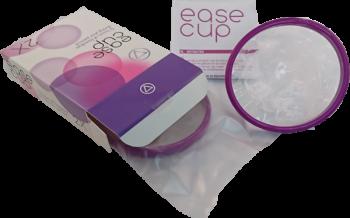 De Easecup met verpakking en handleiding
